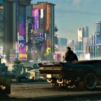 No rules: In Cyberpunk 2077, players have the freedom to explore the open-world Night City, talk to other characters or engage in gunfights. | © 2020 CD PROJEKT S.A. ALL RIGHTS RESERVED.