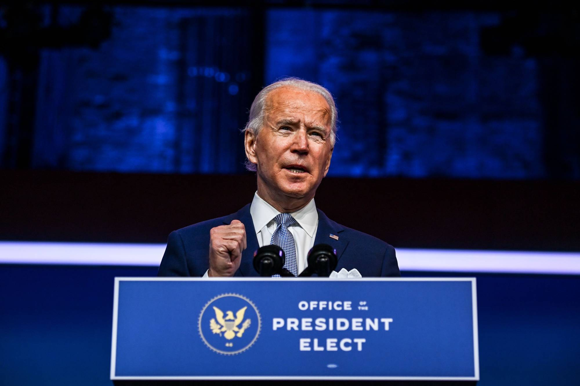 Joe Biden's early signals show that, for now at least, he is charting a centrist foreign policy course. And if his choices for national security positions are disappointing to his party's progressives, they are sure to be reassuring to his country's allies. | AFP-JIJI
