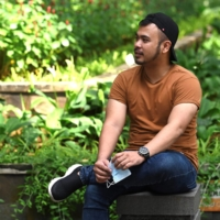 Juno Simorangkir created the COVID Survivor Indonesia group after finding support online for his symptoms including heart palpitations, extreme fatigue and tinnitus.  | AFP-JIJI