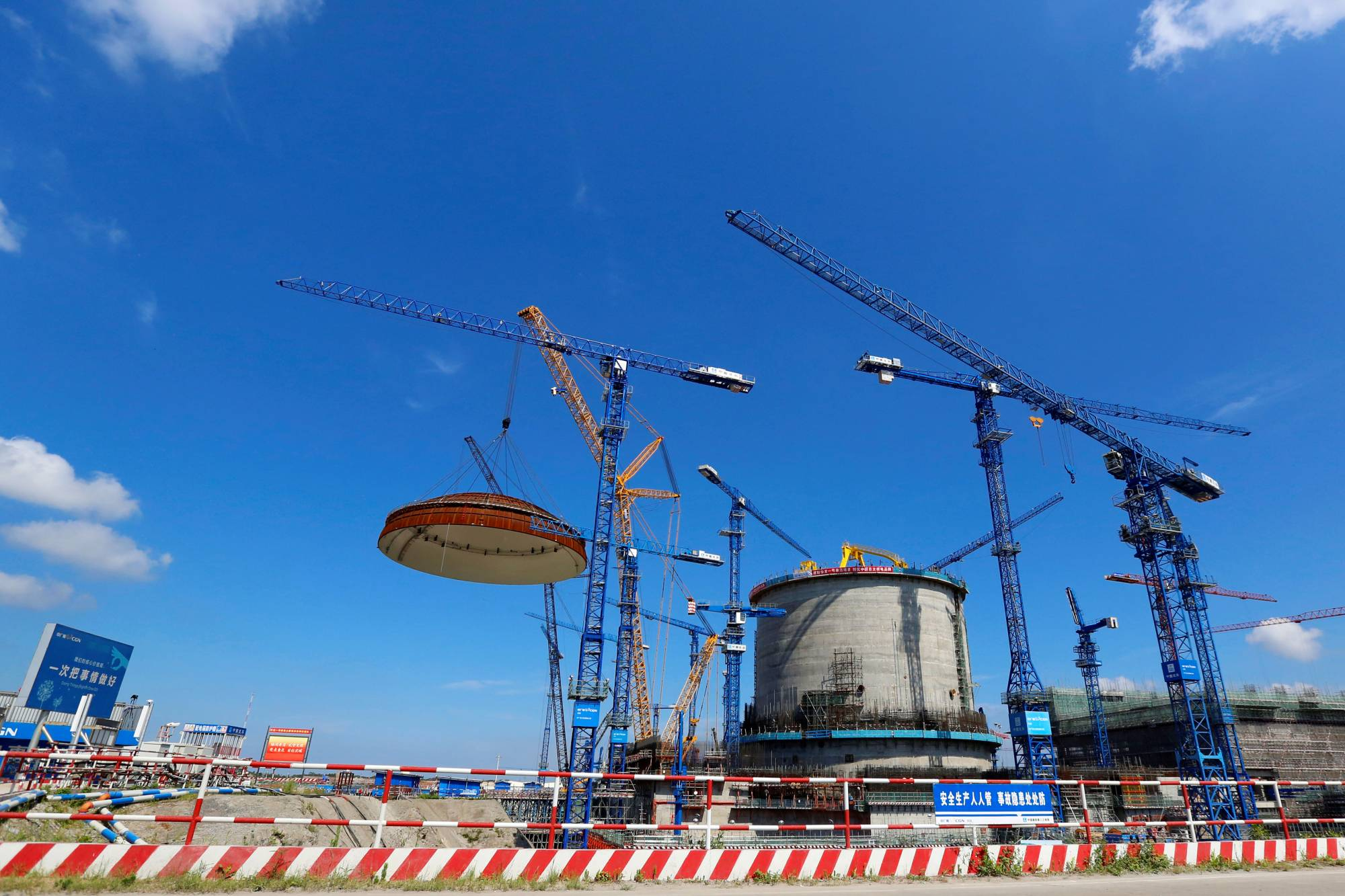 Hualong One pressurized water nuclear power units have been constructed in numerous areas of China, and agreements have been signed with Argentina and Iran to build similar plants there. | CHINA DAILY / VIA REUTERS