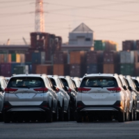 The government is closer to a decision to ban sales of new gasoline-only cars in Japan in the mid-2030s. | BLOOMBERG