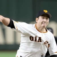 Ace pitcher Tomoyuki Sugano has asked the Giants to make him available to MLB teams via the posting system. | KYODO