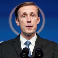 Jake Sullivan, U.S. President-elect Joe Biden's choice to be his national security adviser, speaks as Biden announces his national security nominees and appointees at his transition headquarters in Wilmington, Delaware, on Nov. 24. | REUTERS