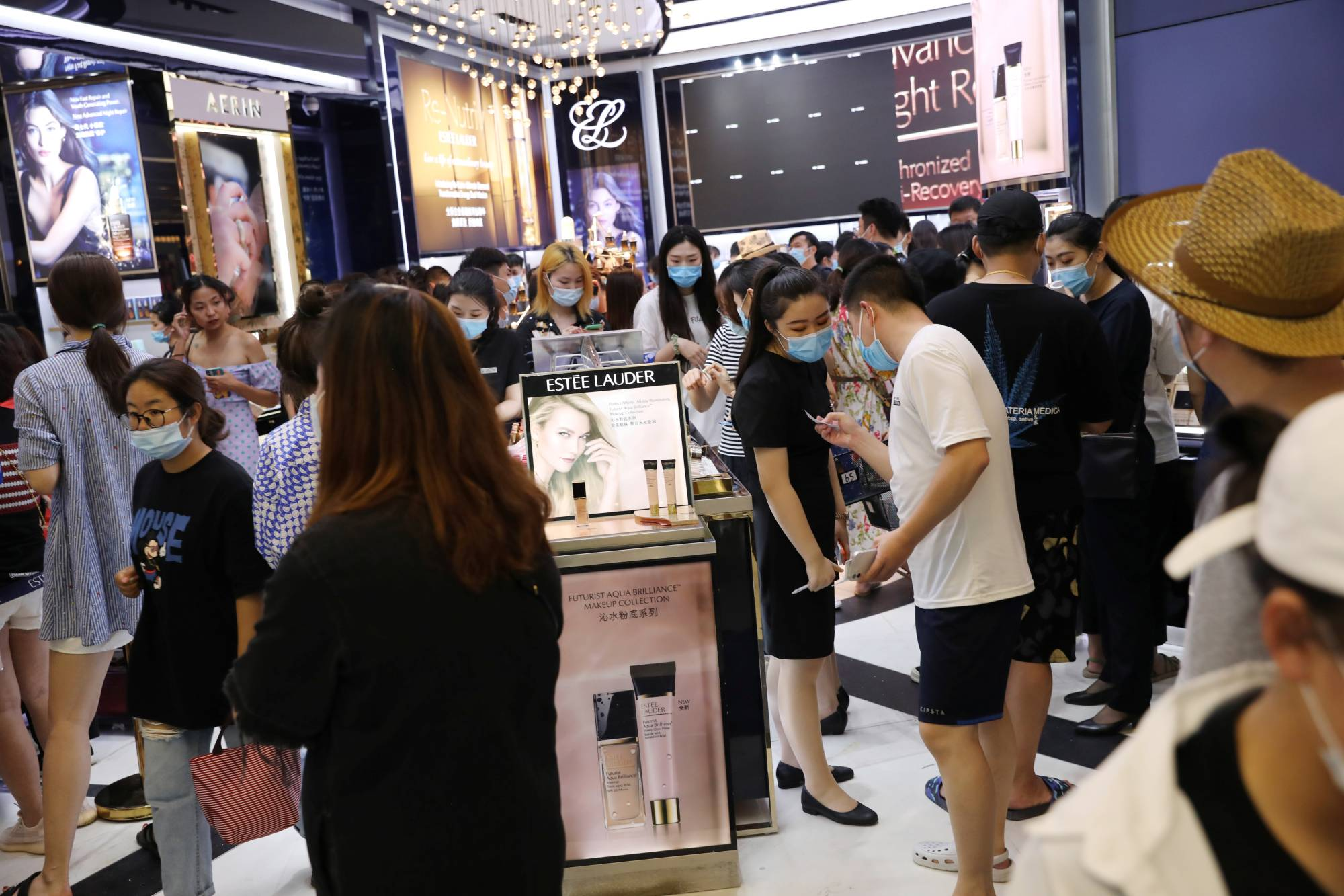 A cosmetics store at the Sanya International Duty-Free Shopping Complex | REUTERS