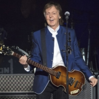 Still going strong: Paul McCartney performed at Amalie Arena in Tampa, Florida, on July 10, 2017. | AP / SCOTT AUDETTE