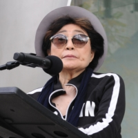 Yoko Ono urges gun control as fans commemorate John Lennon's death