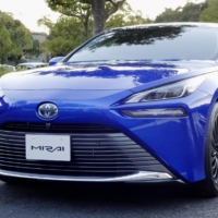 Toyota launches second-generation Mirai hydrogen fuel cell car