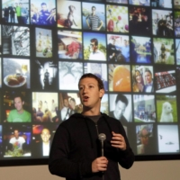 Facebook CEO Mark Zuckerberg speaks at Facebook headquarters in Menlo Park, California, in 2013.  | AP