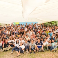 All of Shizen Energy's employees gather in 2019. | SHIZEN ENERGY GROUP