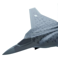 A computer image of Japan's next-generation fighter jet, which will replace the F-2s | MINISTRY OF DEFENSE / VIA KYODO