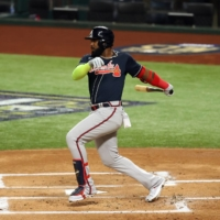 Braves' Marcell Ozuna becomes first NL player to be named MLB's top DH