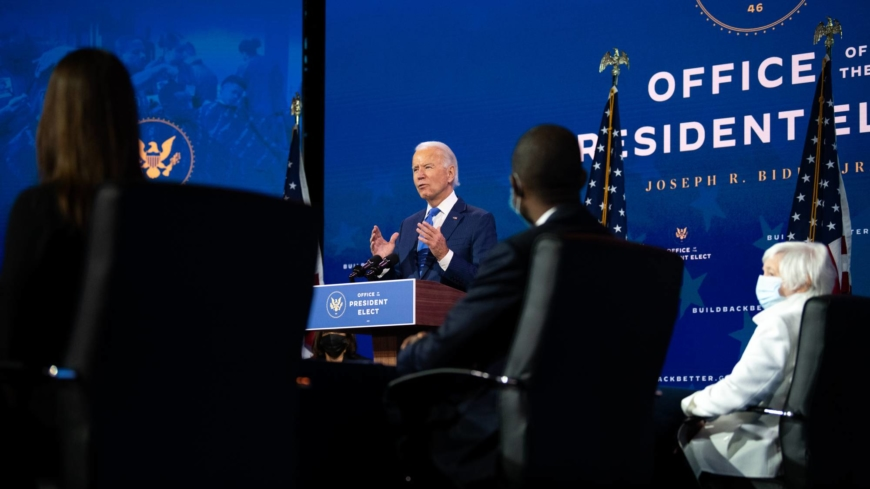 For Biden's economic team, an early focus on climate