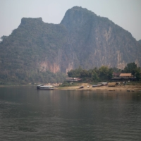 The future site of the Luang Prabang dam on the Mekong River outskirt of Luang Prabang province, Laos | REUTERS