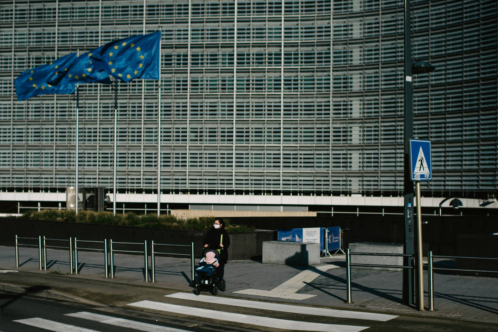 The European Commission in Brussels in October. As the European Union has become the global leader in tech regulation, Silicon Valley companies have increasingly focused on Brussels in hopes of choking off even stiffer rules before they spread. | DMITRY KOSTYUKOV / THE NEW YORK TIMES