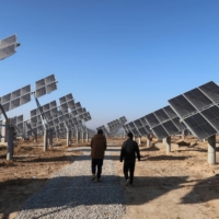 China has declared that it will be carbon neutral by 2060, meaning its newly constructed solar power stations will have to help take the place of the country's considerable reliance on coal. | REUTERS