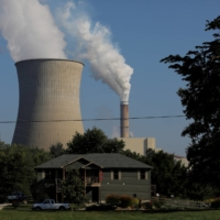 William H. Zimmer Power Station, a coal-fired plant in Moscow, Ohio. Joe Biden has pledged to take the United States back into the Paris Agreement on climate change. | REUTERS