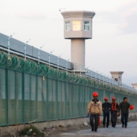 The site of what is officially known as a vocational skills education center in Dabancheng, in China's Xinjiang Uighur Autonomous Region | REUTERS