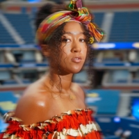 Naomi Osaka at Arthur Ashe Stadium in New York in September. In 2020, Osaka found her voice and the self-possession to speak up when and how she saw fit, a massive leap for a global superstar who once felt too self-conscious to exhort herself even on the court.  | CHANG W. LEE / THE NEW YORK TIMES