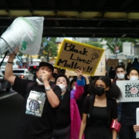 Speaking up: The Black Lives Matter marches in Tokyo resulted in high turnout, as did rallies held in other major cities in the country. | RYUSEI TAKAHASHI