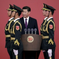 China eyes new goal of military parity with U.S. in Asia by 2027