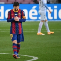 Barcelona's Lionel Messi admits his team has struggled to find early momentum this season as Spanish top-flight games continue to be played behind closed doors. | AFP-JIJI