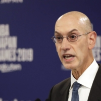 NBA Commissioner Adam Silver has emphasized the league's health and safety protocols ahead of Tuesday's season opener.   AP