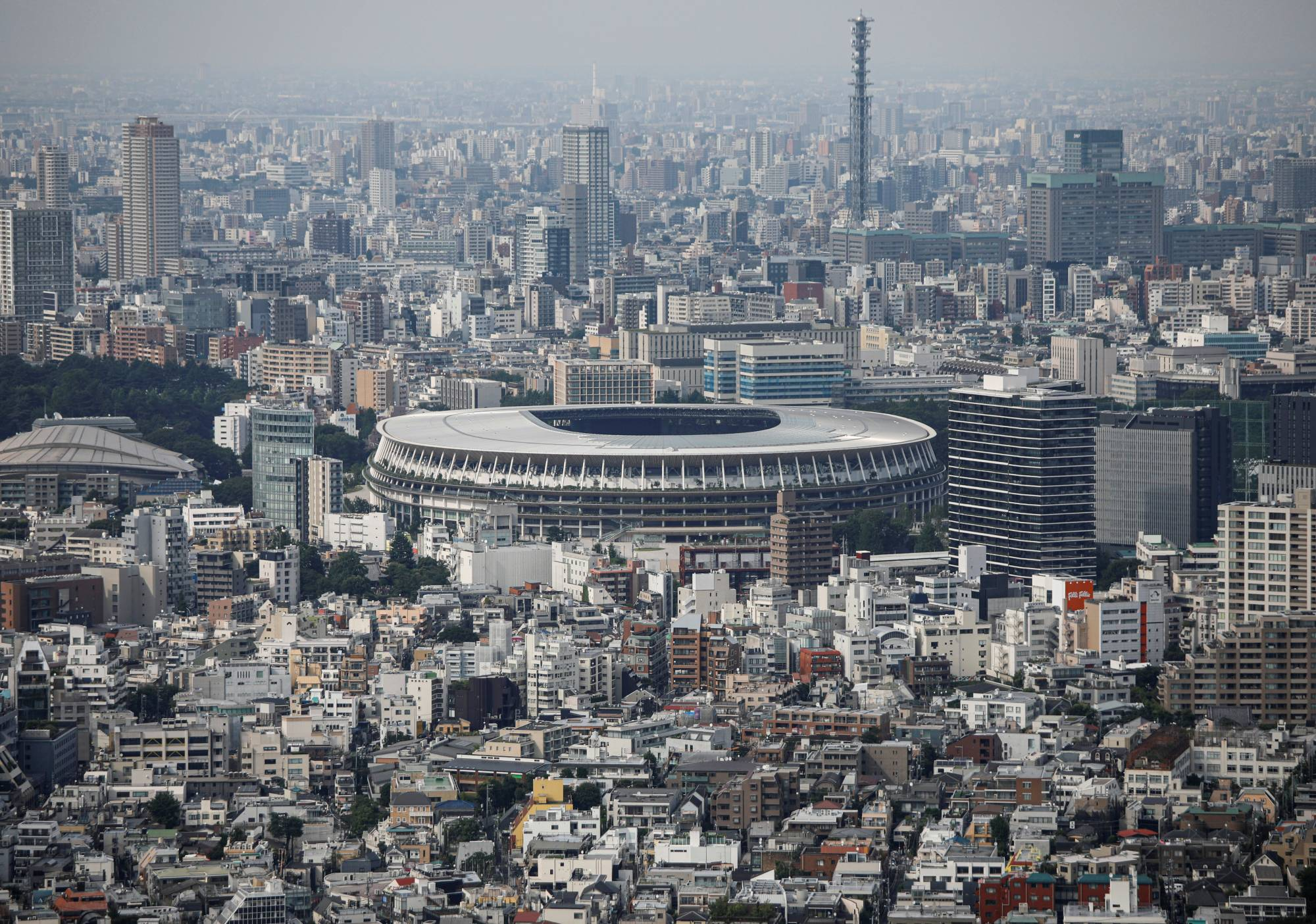 The National Stadium in Tokyo will serve as the main stadium of the 2020 Olympics and Paralympics. |  REUTERS