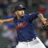 Twins pitcher Fernando Romero delivers during a game against the Tigers at Target Field in Minneapolis on May 10, 2019. | USA TODAY / VIA REUTERS
