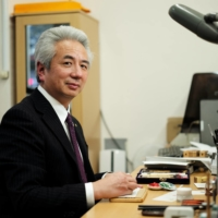 Masaki Takeguchi, whose shop, Takeguchi Sanshodo, in Chuo Ward, Tokyo, has served for decades as a purveyor to the Imperial Household Agency and other government and corporate clients   RYUSEI TAKAHASHI