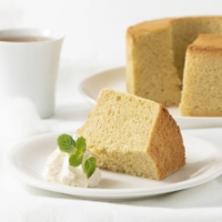 This chiffon cake is made from silkworms.  | COURTESY OF ELLIE INC.