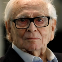 Cardin, 97, at his Studio Pierre Cardin in Paris in February |  REUTERS