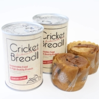Gryllus produces cricket-based food products, including cricket bread.     | COURTESY OF GRYLLUS