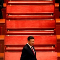 Chinese President Xi Jinping at the Great Hall of the People in Beijing | REUTERS