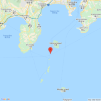 The epicenter of the earthquake that occurred on Dec. 18 at 6:09 p.m. is located in Izu-ohshima | GOOGLE MAPS