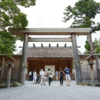 The Toyouke Daijingu outer shrine, or Geku, is dedicated to an agricultural goddess who was enshrined 1,500 years ago | JNTO