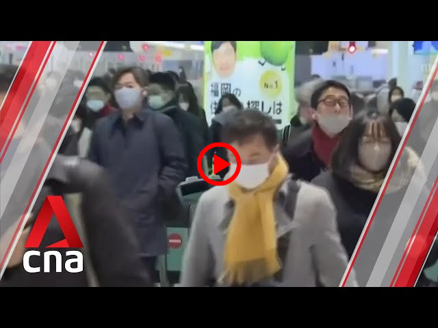 COVID-19: Mixed reactions among Japanese as state of emergency begins in more areas   CNA