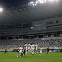 The J. League's second division resumed in late June behind closed doors, with the top flight restarting in early July. | REUTERS