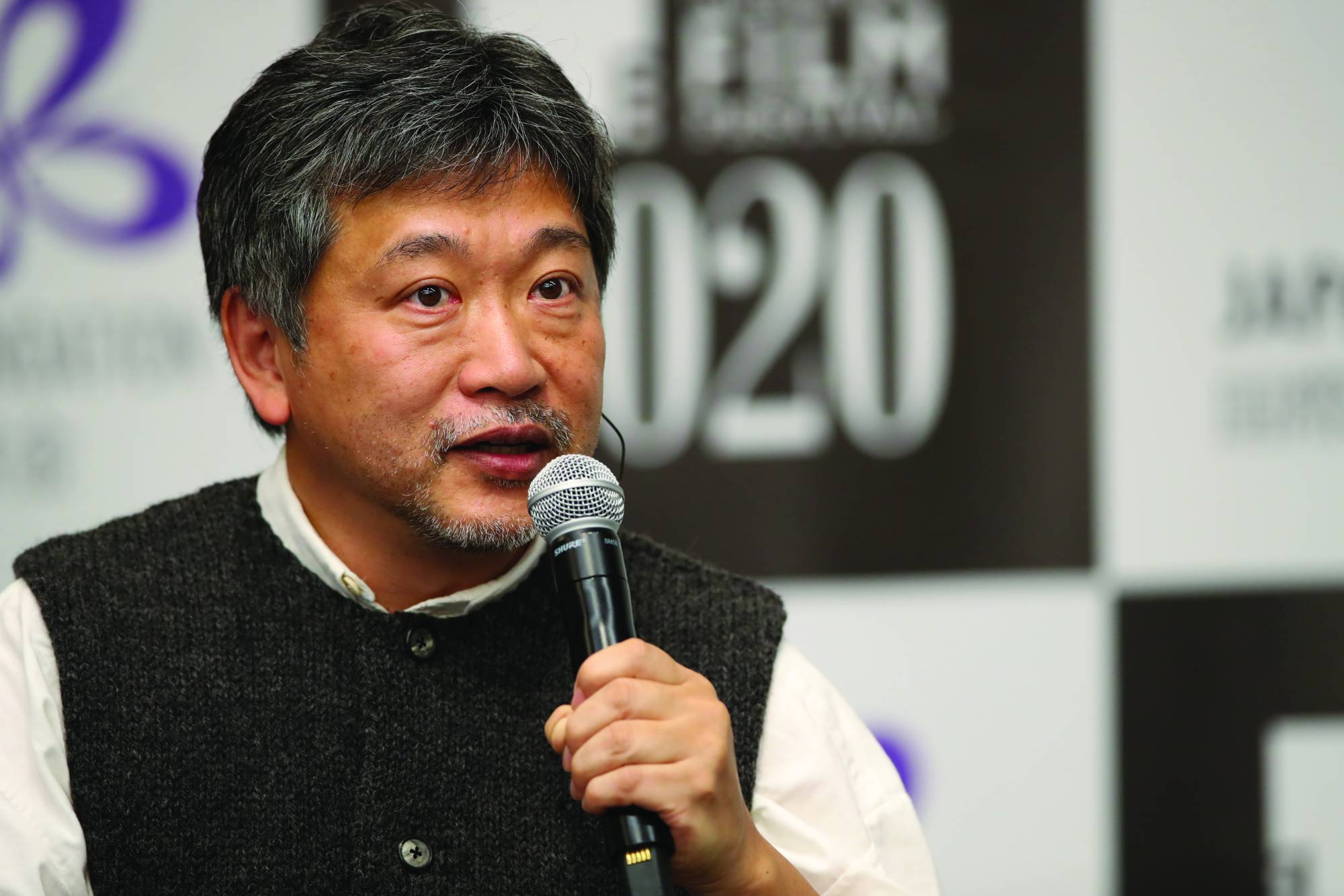 Film director Hirokazu Kore-eda was one of the many people to participate in the 2020 Tokyo International Film Festival's program of online events. | © 2020 TIFF