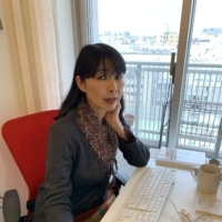 Lily Ono, Tokyo representative of international conference organizer Reed Midem, says creating relationships between businesspeople in an online setting is difficult. |