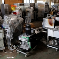 Kitchen equipment piles up as pandemic shutters Japan's restaurants