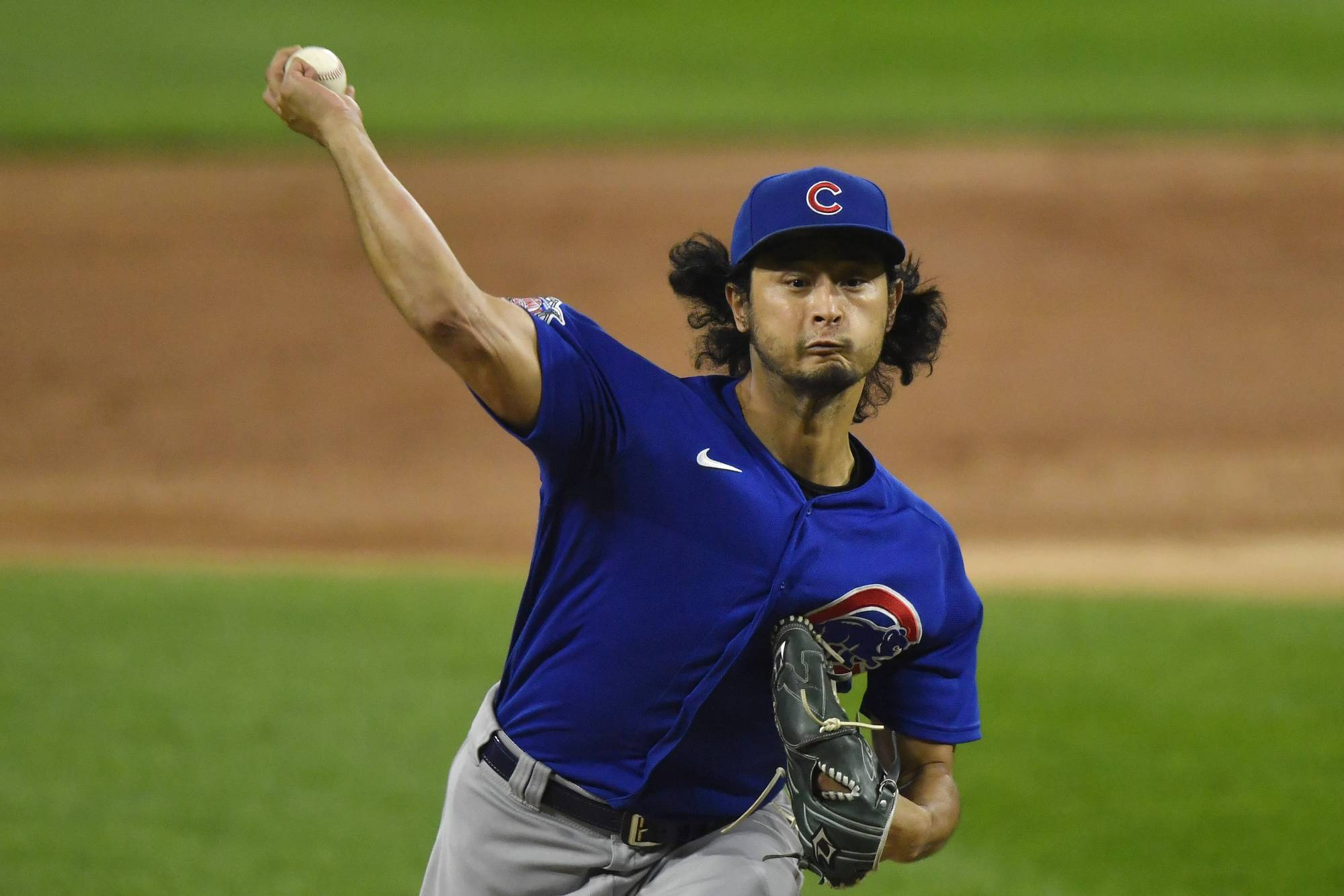 The Cubs' Yu Darvish pitches against the White Sox in Chicago on Sept. 25. | USA TODAY / VIA REUTERS