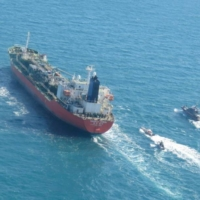 Iran seizes South Korean tanker and ramps up enrichment as tensions mount