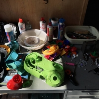 The weight of play: At Kamikatsu's Gomi Station, a children's toy takes an entire hour to dismantle into its various components for recycling. | FLORENTYNA LEOW