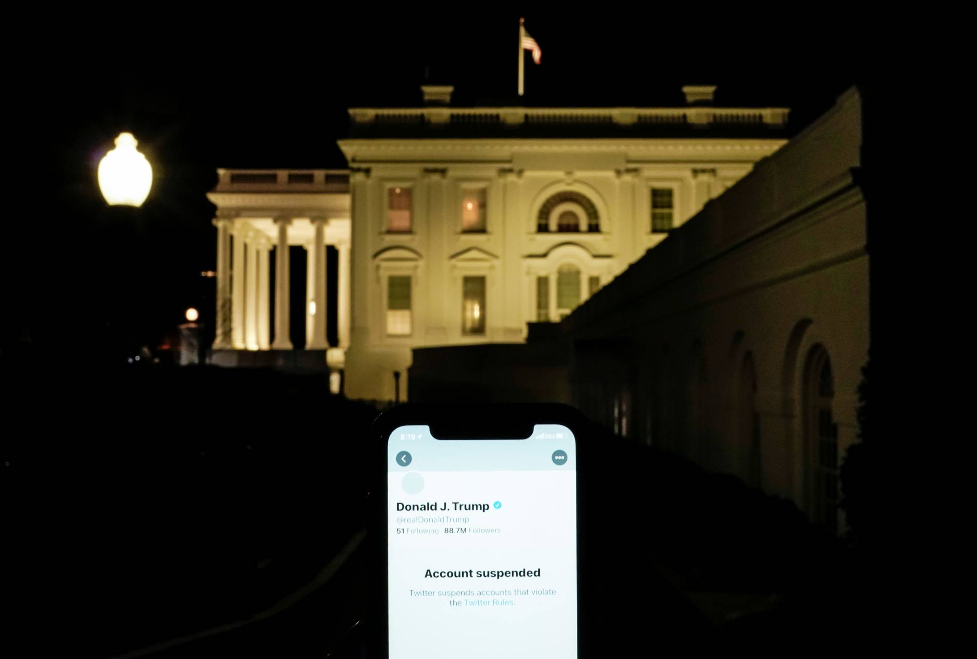 Friends, family and advisers to Donald Trump have been bitterly complaining about Twitter's ban of the president. The platform to air their grievances? Twitter.   REUTERS