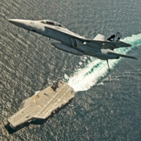 U.S. Navy's priciest carrier ever struggles to get jets on and off deck