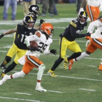 Browns stun Steelers for first playoff victory since 1994