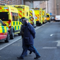 With hospitals nearly overwhelmed, U.K. faces harder days ahead