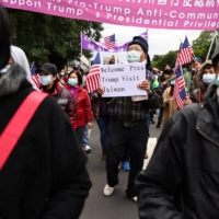 Taiwan's independence supporters hold a rally in Taipei on Jan. 2.  | REUTERS