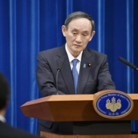 Prime Minister Yoshihide Suga's popularity as president of the Liberal Democratic Party will be tested in by-elections in constituencies in Hokkaido and Nagano prefectures scheduled for April 25. | KYODO