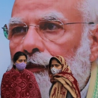 Indian Prime Minister Narendra Modi risks letting the ongoing protests by farmers snowball into a serious political threat.  | BLOOMBERG